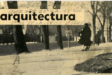 """Architecture"" Journal, 3rd Serie, 1957/1974 and the Post-CIAM Generation"